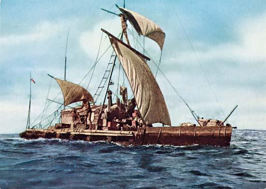 Thor Heyedahl's ship